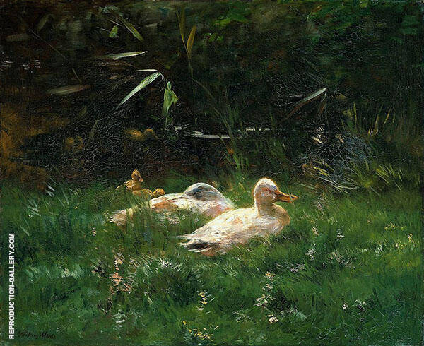 Ducks By Jacob Maris