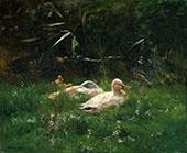Ducks By Jacob Maris