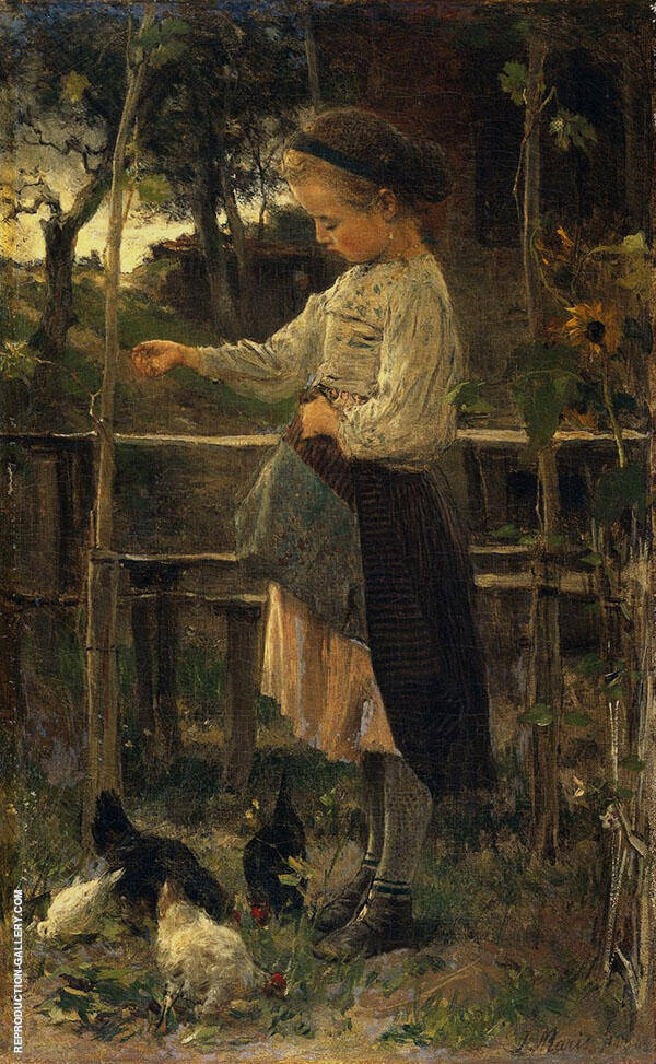 Feeding Chicks By Jacob Maris