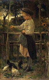 Feeding Chicks By Jacob Maris