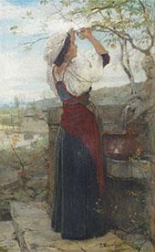 Gathering Fruits By Jacob Maris
