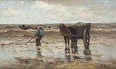 Gathering Seaweed 1888 By Jacob Maris