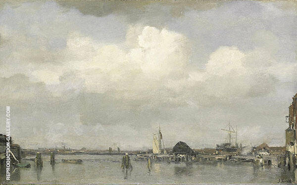 Harbour View By Jacob Maris