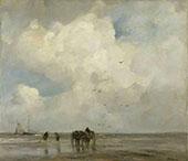 Shell Fishing By Jacob Maris
