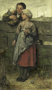 Villagers By Jacob Maris