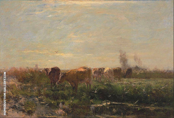 Early Morning By Willem Maris