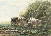 The Milking Pen By Willem Maris