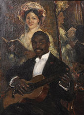 The Recital By Willem Maris