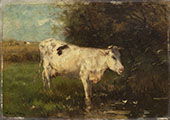White Cow 1880 By Willem Maris
