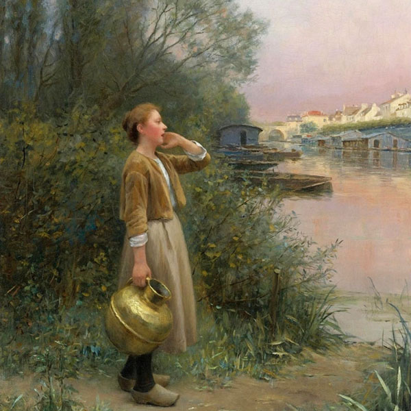 Oil Painting Reproductions of Daniel Ridgway Knight