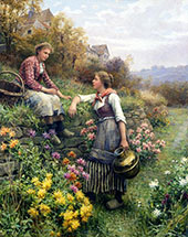 By The Way By Daniel Ridgway Knight