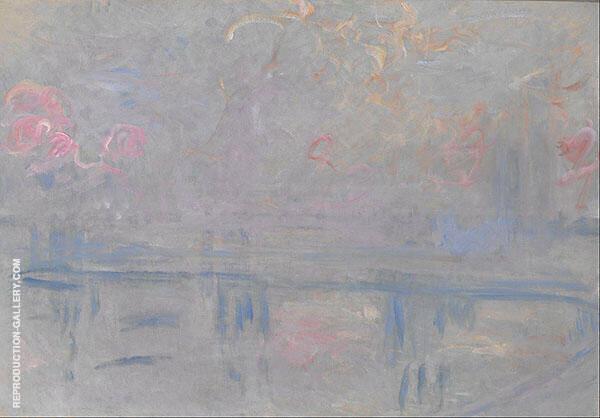 Charing Cross Bridge c1900 By Claude Monet