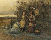 Maidens Waiting By Daniel Ridgway Knight