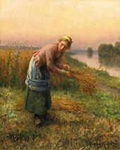 The Gleaner By Daniel Ridgway Knight