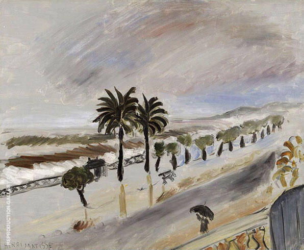A Storm in Nice c1919 Painting By Henri Matisse - Reproduction Gallery
