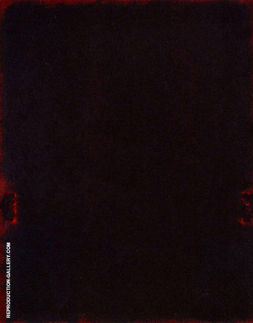 Black, Red, Black By Mark Rothko (Inspired By)