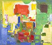 August Light 1957 By Hans Hofmann