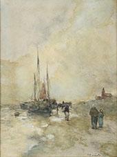 On The Dutch Coast By Johan Hendrik Weissenbruch