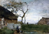 The Washing Place By Johan Hendrik Weissenbruch