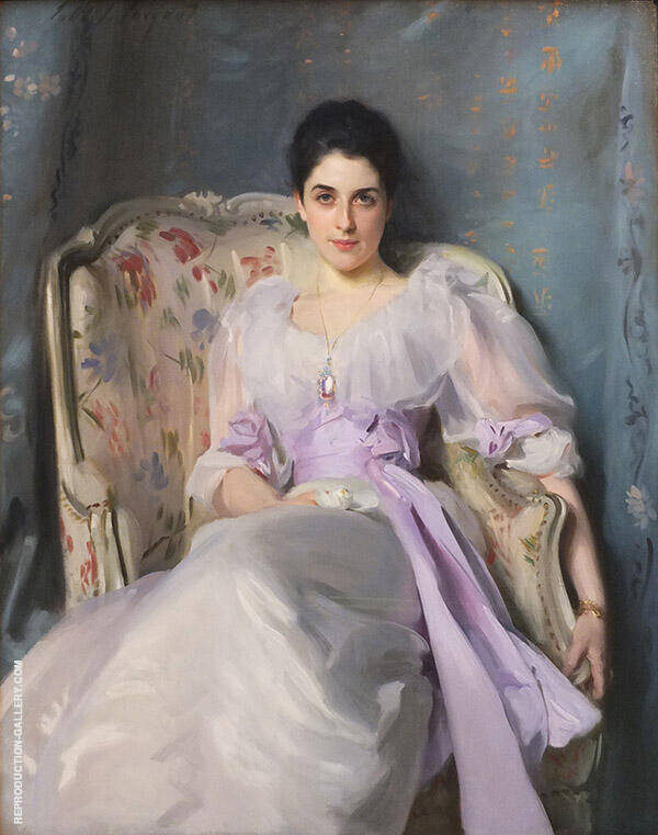 Lady Agnew of Lochnaw 1882 By John Singer Sargent