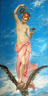 Hebe By Charles Auguste Emile Durand (Carolus-Duran)