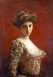 Jane Henriot By Charles Auguste Emile Durand (Carolus-Duran)