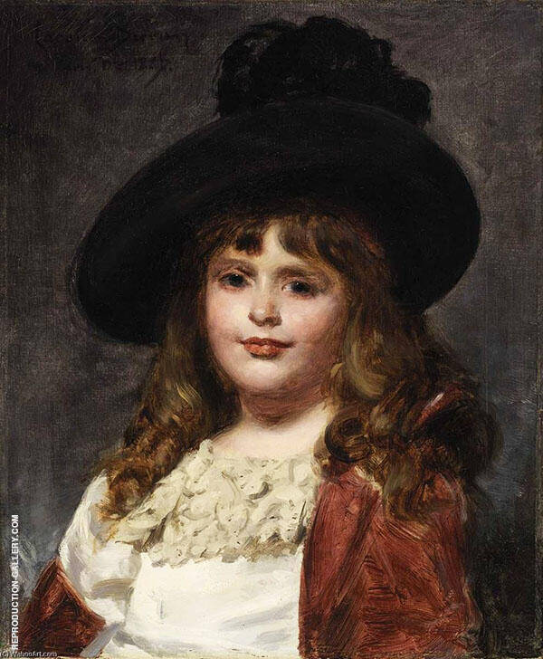 Laura at Seven Painting By Charles Auguste Emile Durand (Carolus-Duran)