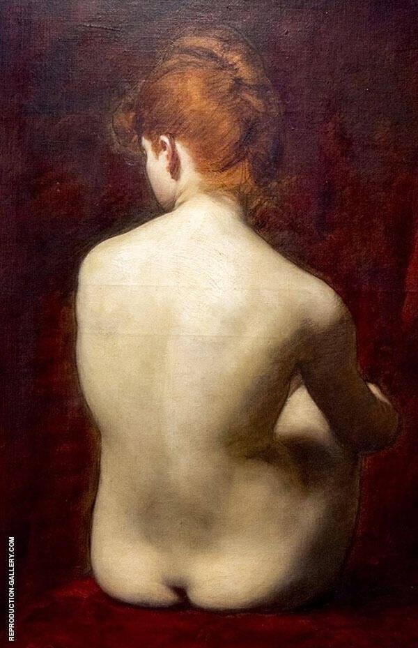 Lilia Painting By Charles Auguste Emile Durand (Carolus-Duran)