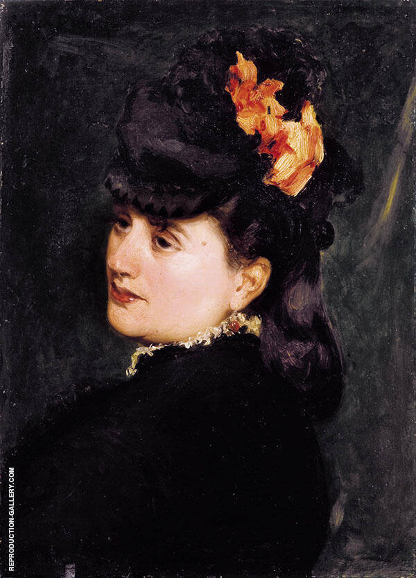 Madame Ernest Feydeau Painting By ... - Reproduction Gallery