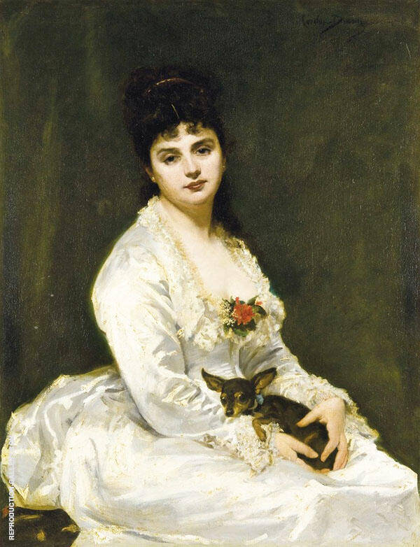 Madame Henry Fouquier By Charles Auguste Emile Durand (Carolus-Duran)