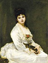 Madame Henry Fouquier By Charles Auguste Emile Durand (Carolus-Duran)