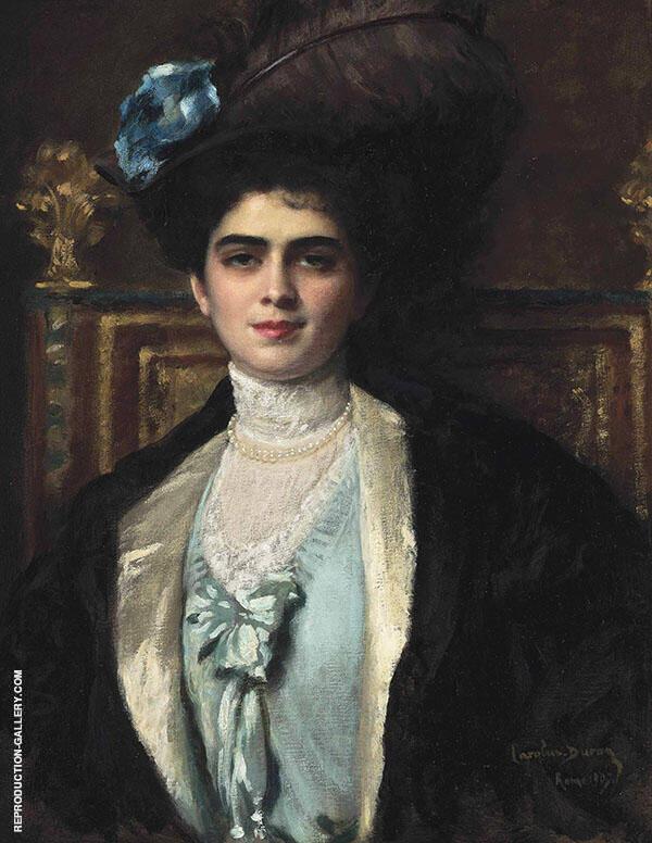 Madame Lafourcade nee Cortira a la Havane Painting By ...