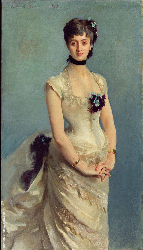 Madame Paul Poirson Painting By ... - Reproduction Gallery