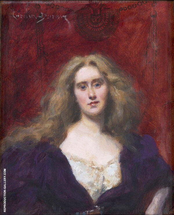 Natalie Barney c1900 Painting By ... - Reproduction Gallery