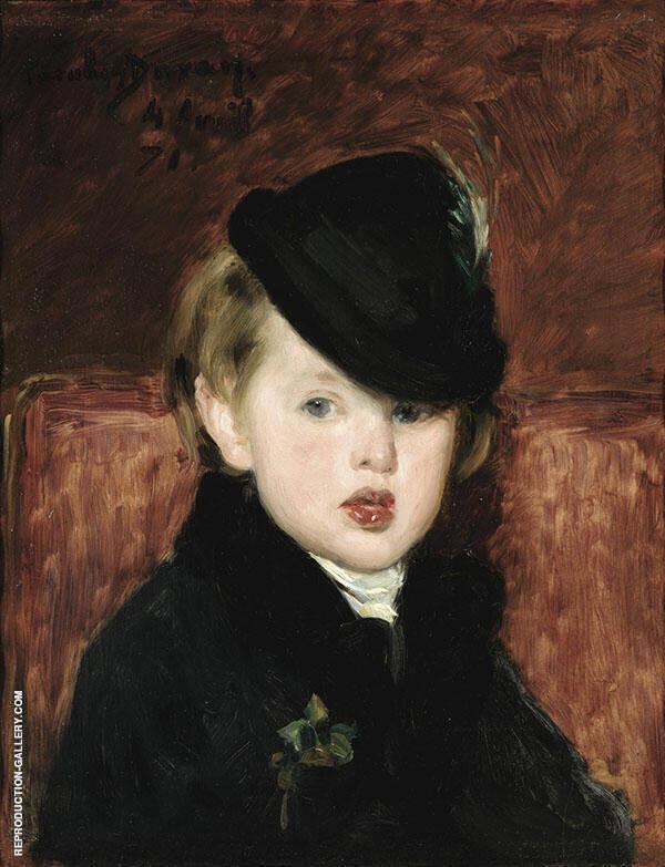 Portrait de Louis Ghemar I'aine 1871 Painting By ...