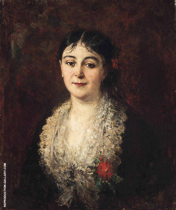 Portrait of a Lady Painting By ... - Reproduction Gallery