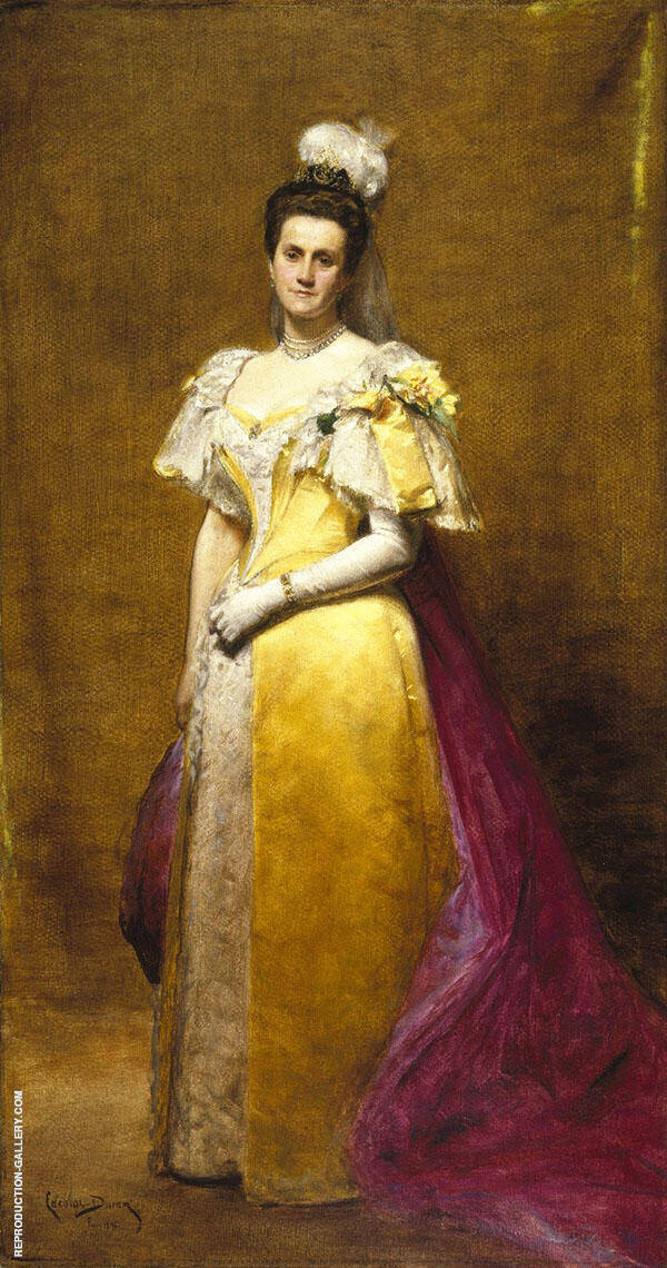 Portrait of Emily Warren Roebling By Charles Auguste Emile Durand (Carolus-Duran)