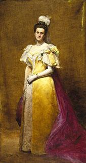 Portrait of Emily Warren Roebling By Charles Auguste Emile Durand (Carolus-Duran)