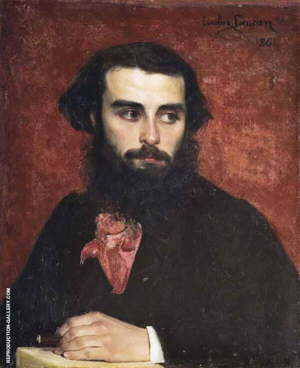 Portrait of Louis Florestan Myionnet Painting By ...