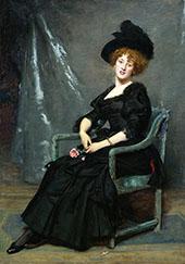 Portrait of Lucy Lee Robbins By Charles Auguste Emile Durand (Carolus-Duran)