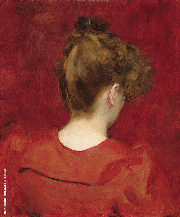 Study of Lilia Painting By Charles Auguste Emile Durand (Carolus-Duran)