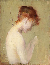 Untitled and Unfinished Painting By Charles Auguste Emile Durand (Carolus-Duran)