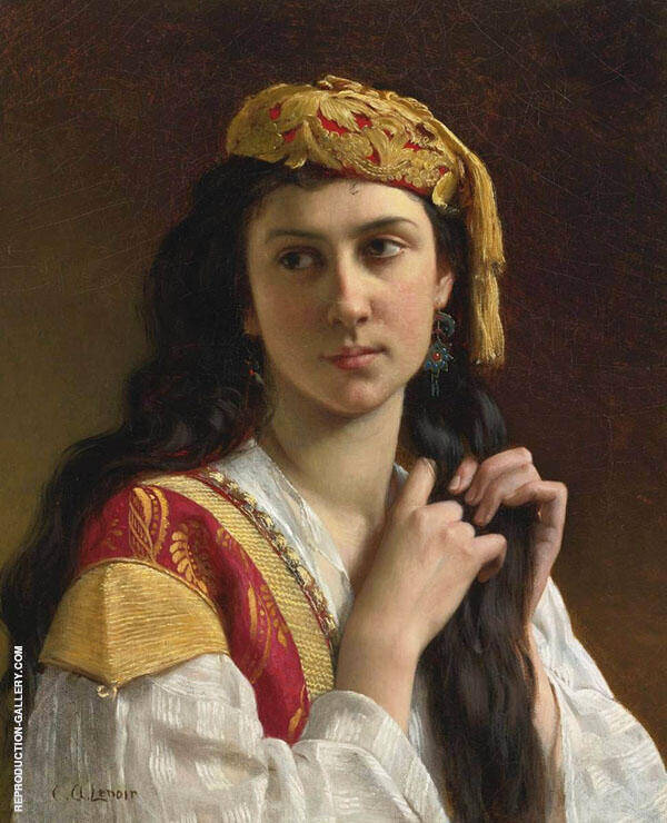Day Dreams Painting By Charles Amable Lenoir - Reproduction Gallery