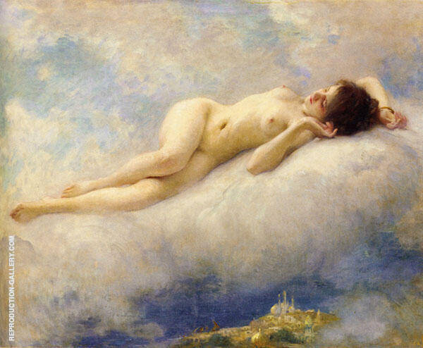 Dream of The Orient c1913 Painting By Charles Amable Lenoir