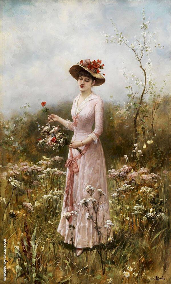 Elegante Dame By Charles Amable Lenoir