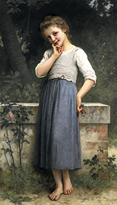 The Cherry Picker By Charles Amable Lenoir