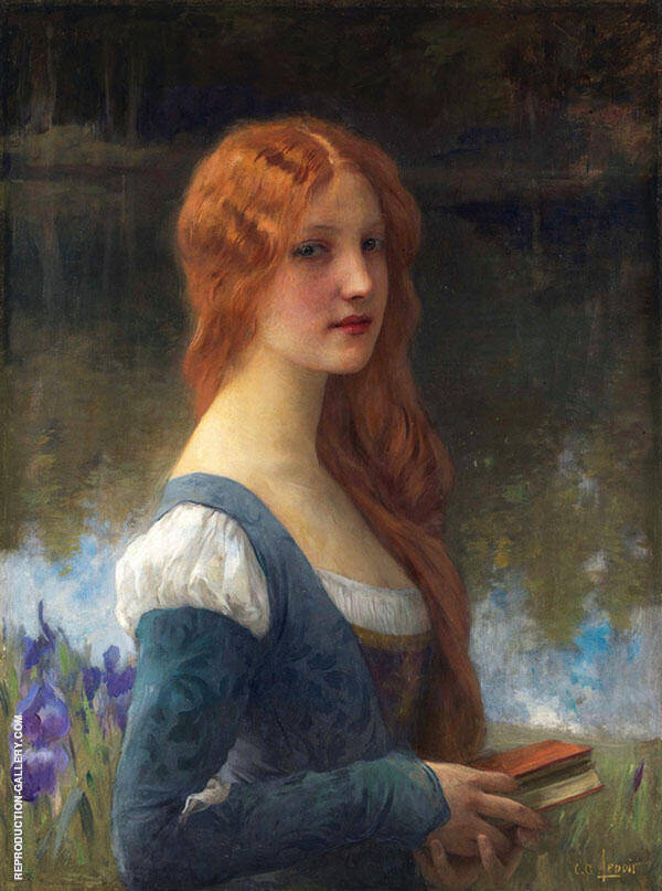 To The Return of Times Lost Painting By Charles Amable Lenoir