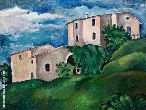 French Landscape Painting By Eugene Zak - Reproduction Gallery