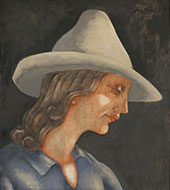 Girl with Hat By Eugene Zak