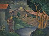 Romantic Landscape By Eugene Zak